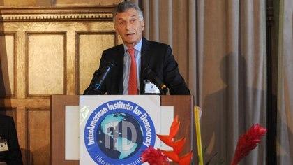 """Mauricio Macri calificó de """"ineptitud absoluta"""" la política de adquisición de vacunas."""
