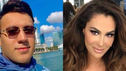 Ninel Conde y Larry Ramos llegan al matrimonio con sendos escándalos a cuestas (Foto: Instagram@twtlr/@ninelconde)