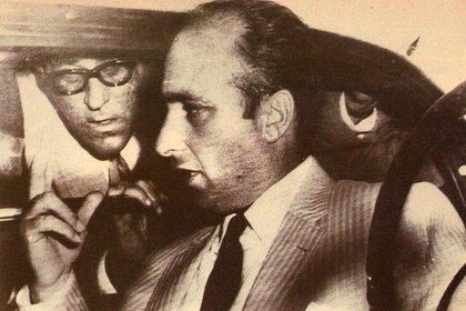 """Me trataron como si hubiera estado entre amigos"", dijo Juan Manuel Fangio luego de haber sido liberado (Archivo CORSA)"
