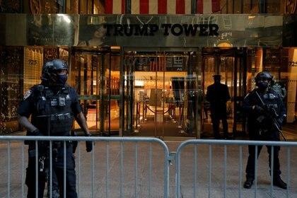 Operativo de seguridad en la Torre Trump en Manhattan (Reuters)
