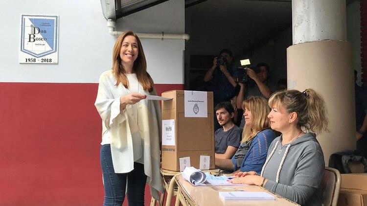 La gobernadora bonaerense María Eugenia Vidal (@mariuvidal)