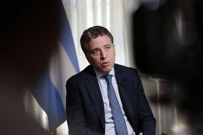 Nicolas Dujovne, ex ministro de Hacienda (Bloomberg)