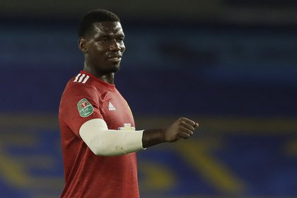Paul Pogba, una de las figuras del Manchester United (REUTERS/Matt Dunham)