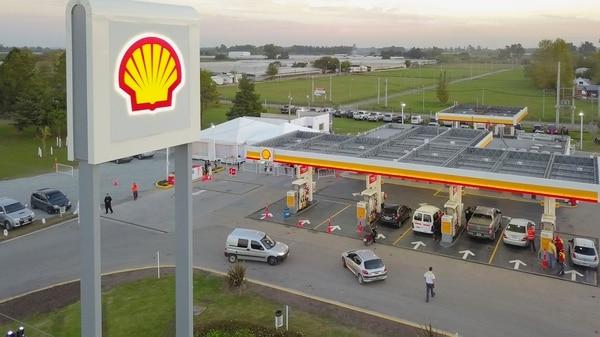 Shell tiene 645 estaciones de servicio en el país