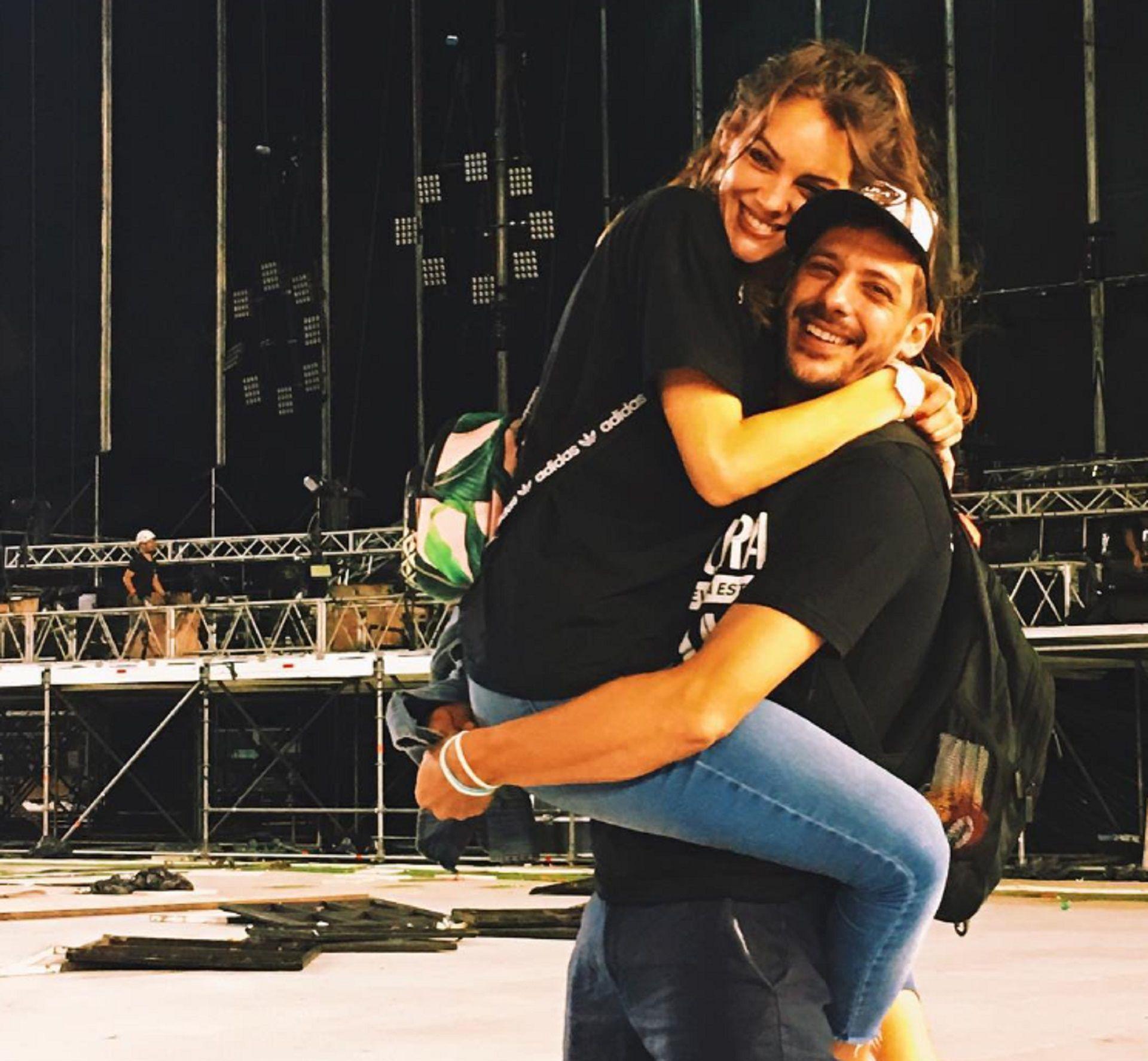 Macarena Paz está en pareja hace cinco años con Rodrigo Pérez, el guitarrista de la banda de rock Ciro y los Persas