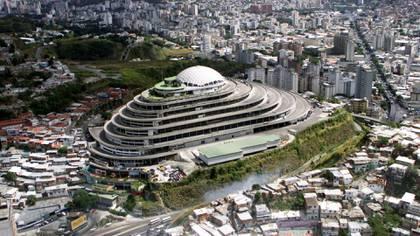 El Helicoide, la sede del SEBIN donde se encuentran detenidos cientos de presos políticos del régimen de Maduro