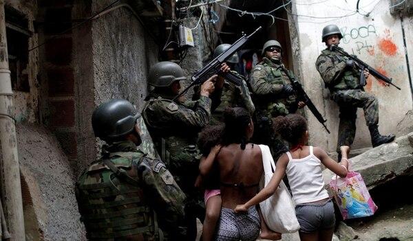 Resultado de imagen para rio militarizacion