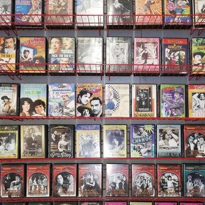 El local cuenta con al rededor de 4 mil películas. Foto: Tomada de Instagram videocentro