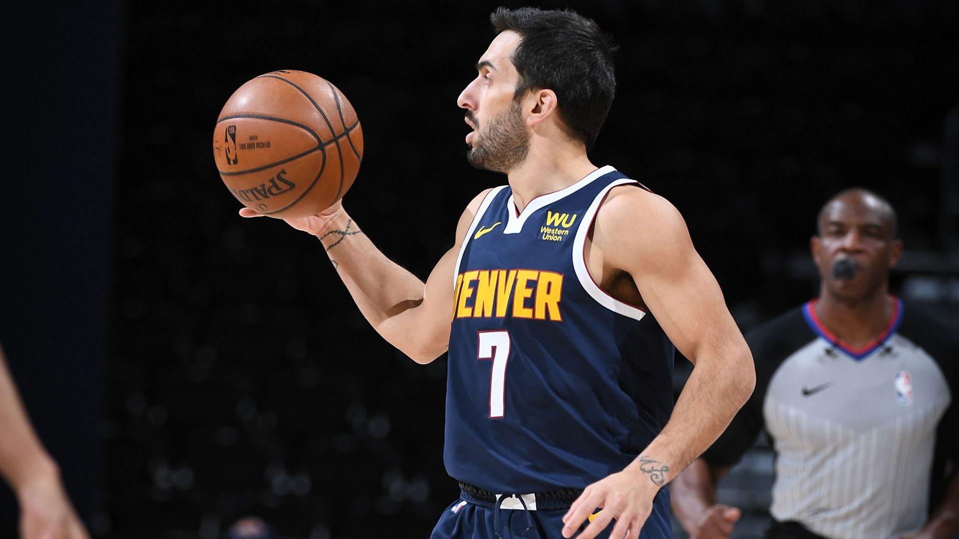 Facu Campazzo debut en la NBA