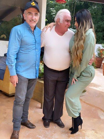 El día de su encuentro con Vicente Fernández
