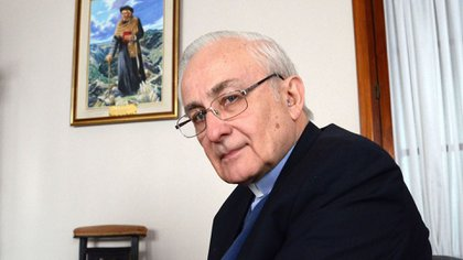 Carlos Náñez, otro de los obispos que firmó el escrito