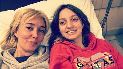 Marisa Brel y Paloma, su hija