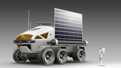 El Lunar Cruiser estará equipado con la tecnología de los vehículos eléctricos con celda de combustible.