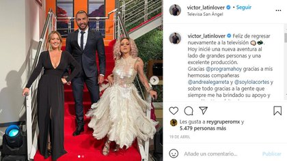 FOTO:Instagram/@victor_latinlover