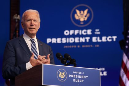 Joe Biden, presidente electo (Reuters)
