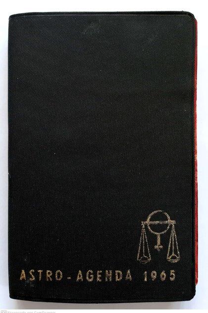 Tapa de la Astro-Agenda, escrita por José López Rega y publicada en 1965 (Archivo del autor