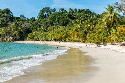 Una playa en Costa Rica (Shutterstock)