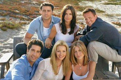 "Los protagonistas de ""Friends"": Jennifer Aniston, Courteney Cox, Lisa Kudrow, Matt LeBlanc, Matthew Perry y David Schwimmer (EFE)"
