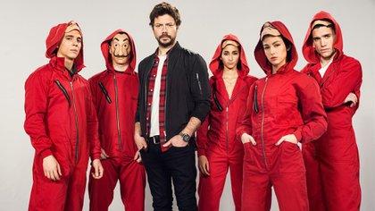 """Parte del elenco de """"La Casa de Papel, temporada 3"""" (Netflix)"""