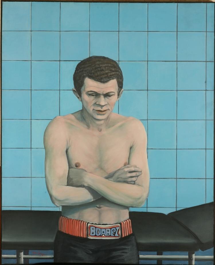 Boxeador, de Pablo Suárez (1977)