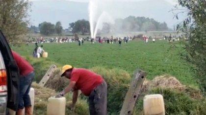 """En Hidalgo el """"huachicoleo"""" se extendió de manera acelerada entres 2016 y 2018 (Foto: Twitter)"""