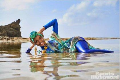 Halima Aden en Sports Illustrated (Foto: Sports Illustrated)