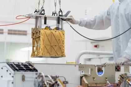 Imagen de MOXIE cedida por la NASA/ R. Lannom. EFE/EPA