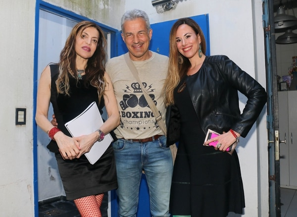 Ana Franco, Ivo Cutzarida y Nori Krieg