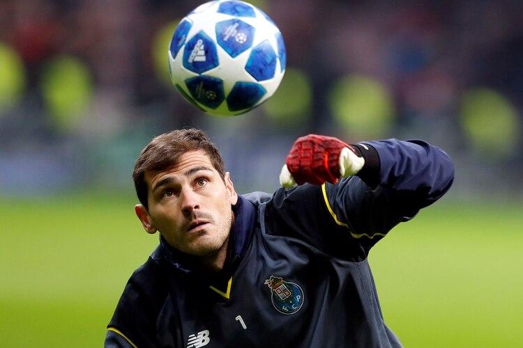 Iker Casillas acaba contrato al final de la temporada