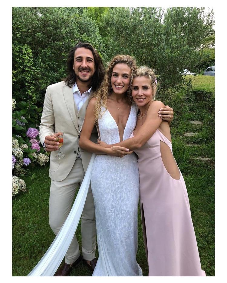 el imposible vestido lencero que usó elsa pataky para la boda de su