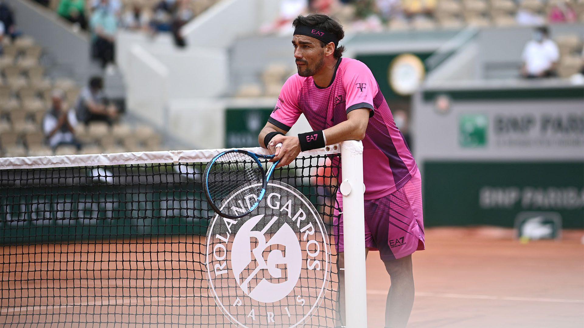 Delbonis vencio a Fognini en Roland Garros