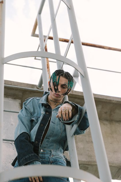 Khea fue el protagonista del film de Levis