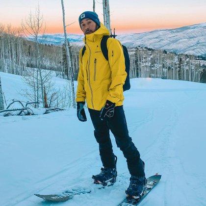 Lewis entrena todas las mañanas en una montaña (Foto: @lewishamilton)