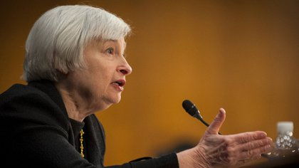 La presidente de la Fed, Janet Yellen<br>  162