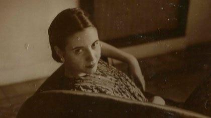 Eva Ibarguren, en una foto de sus años como actriz