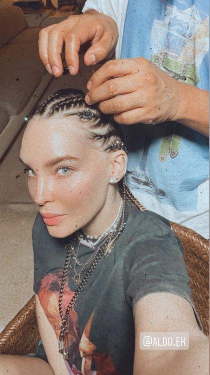 Belinda muestra parte de su proceso de transformación (Foto: Instagram @ belindapop)