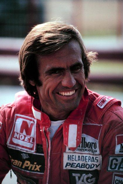 Carlos Alberto Reutemann fue uno de los mejores pilotos del mundo en su época (Prensa Williams)