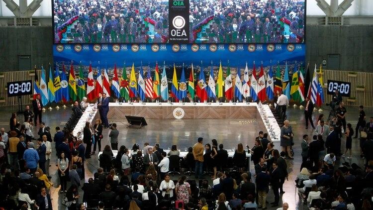 La OEA sesiona en Medellín (EFE)