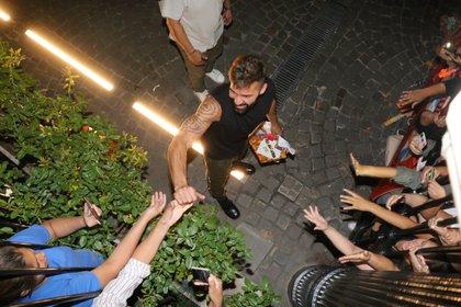 El amor de Ricky para sus fans (Fotos: Grosby Group)