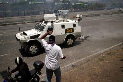 Los vehículos chinos adquiridos por el régimen de Maduro en 2017 fueron los encargados de liderar la represión