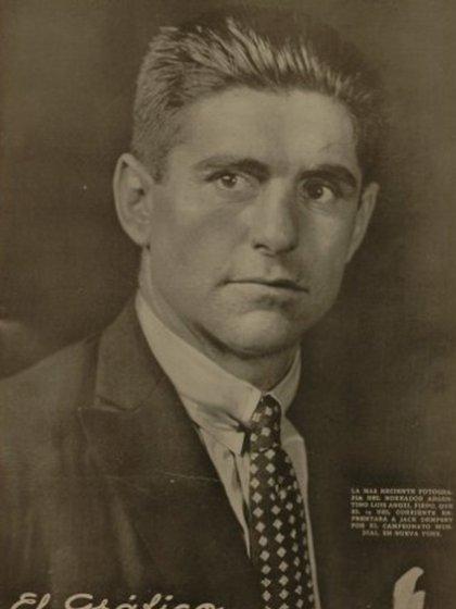 La tapa de El Gráfico en 1923 con Firpo en primera plana días antes de la pelea