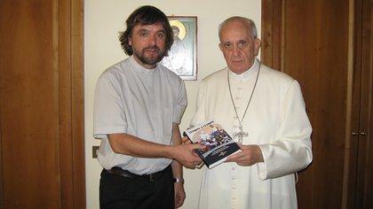 El padre Pepe y el papa Francisco