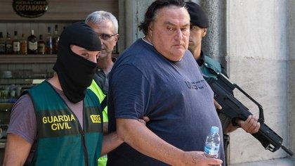 La Guardia Civil española arresta a un hombre en Barcelona (AFP)