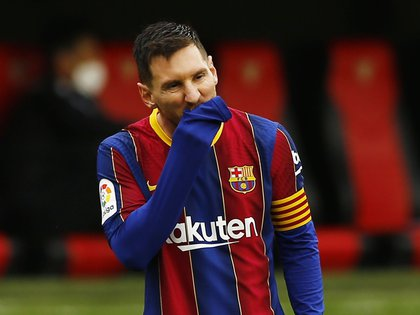 Messi fue uno de los blancos de esta presunta campaña de difamación en las redes sociales (REUTERS/Marcelo Del Pozo)