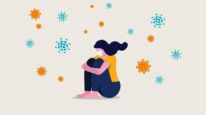 Existen algunas evidencias en animales y humanos de que el estrés psicológico puede afectar muchos aspectos de la red integradora entre el sistema nervioso central, el sistema endocrino y el sistema inmunológico (Shutterstock)