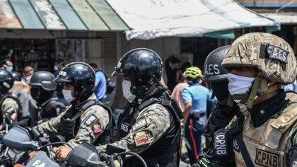 25/08/2020 Agentes de las FAES en Caracas, Venezuela. POLITICA SUDAMÉRICA VENEZUELA INTERNACIONAL ROMAN CAMACHO / ZUMA PRESS / CONTACTOPHOTO