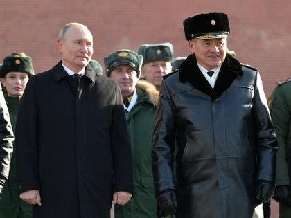 El presidente ruso Vladimir Putin. Sputnik/Alexei Druzhinin/Kremlin via REUTERS ATTENTION EDITORS - THIS IMAGE WAS PROVIDED BY A THIRD PARTY.