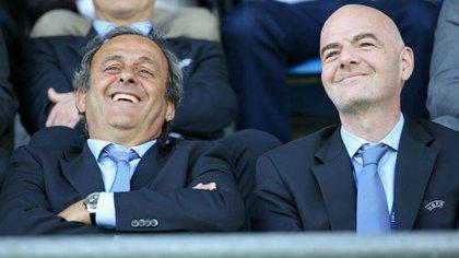 Michel Platiniy Gianni Infantino ocultaron las inyecciones financieras en el PSG y el City