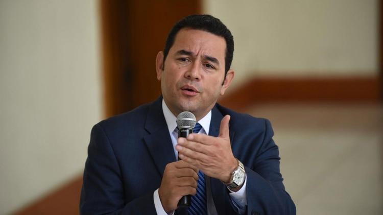 Jimmy Morales (AP)