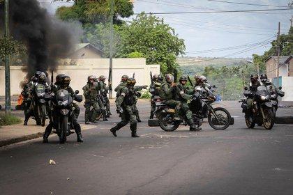 La Guardia Nacional se desplegó en Ciudad Bolívar para evitar más asaltos